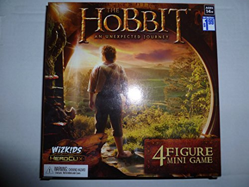 Hobbit - Unexpected Journey Heroclix: 4-Figure Movie Mini-Game