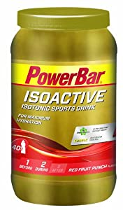 Powerbar Isoactive Sports Drink 1320g Red Fruit Punch by Powerbar