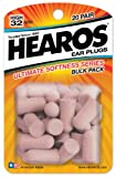 Hearos Ultimate Softness, 20-Pair Foam (Pack of 2)