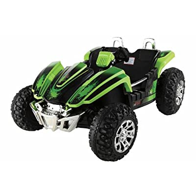 Amazon.com: Monster Trax Green Dirt Racer 22 , (The Dune Buggy)