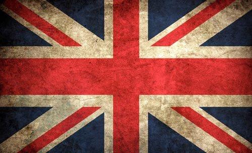 VINTAGE LOOK British Union Jack Flag Sticker (uk decal) (British Flag Union Jack compare prices)