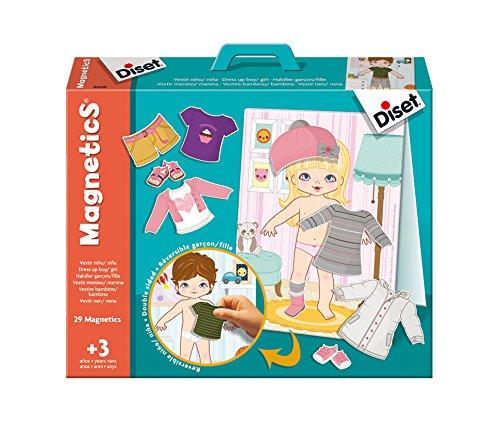 Diset - Magnetics vestir niño/niña (63246)