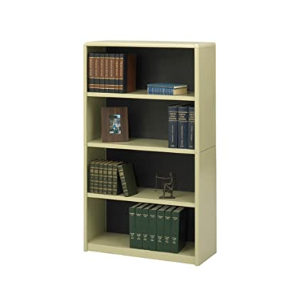 Safco Home Office 4-Shelf ValueMate Economy Bookcase - Sand