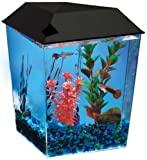 Aquarius1 1 Gallon Tank Aquarium System AQ11104BLK