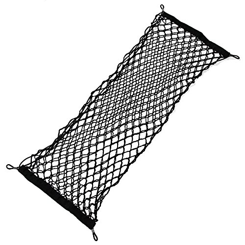 JessicaAlba Envelope Style Trunk Cargo Net for Honda Accord Civic CR-V CR-Z Crosstour Fit Odyssey Pilot Element (Car Trunk Net Honda Accord compare prices)