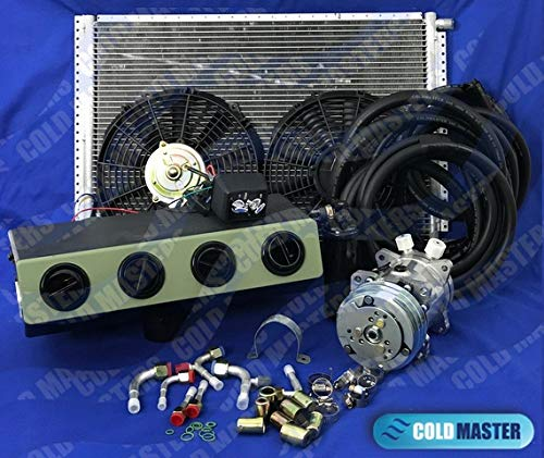 A//C KIT Universal Underdash Evaporator Compressor Air Conditioner 404 12V US !
