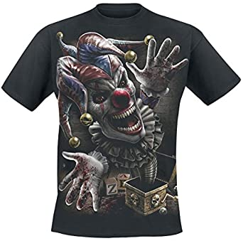 Spiral Direct - T-shirt -  Homme Noir Noir -  Noir - Noir - Large