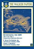 img - for Rethinking the QDR The Case for a Persistent Defense Review book / textbook / text book