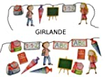 3m Girlande Schulanfang - Kinder Part...