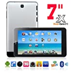 Kool(TM) Silver 7 Inch Phone Mobile T...