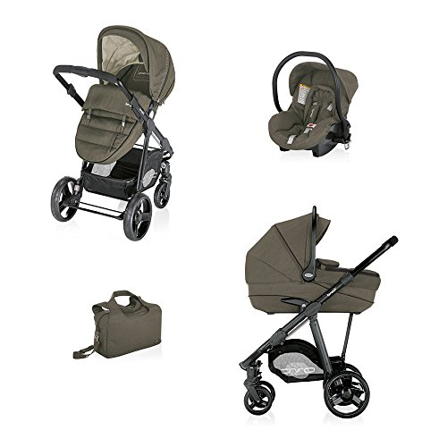 Brevi-Trio-Travel-System-Ovo-Premium-Brown