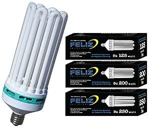 Feliz 6500K Fluorescent Lamp, 300-watt, Blue