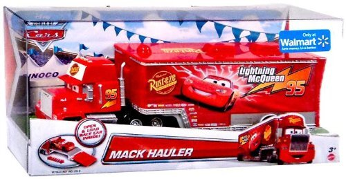 DisneyPixar-Cars-Exclusive-Die-Cast-Vehicle-Mack-Hauler-155-Scale