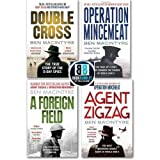 Ben Macintyre Ben Macintyre 4 Books The True Story Collection Pack Set,(Double Cross Operation Mincemeat Agent Zigzag A Foreign Field)