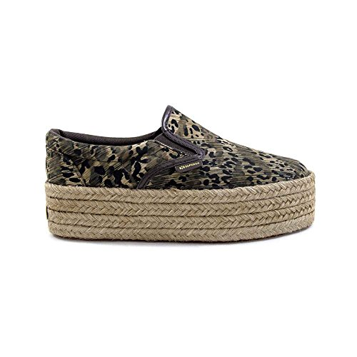 Superga 2314 S009DW0 FABRI FAN ANIMAL BROWN (36)