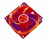 Akasa AK-274CR-4RDS 12cm Red LED case fan
