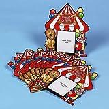 Big Top Carnival Photo Cards - 12 per unit