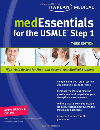 Medessentials For The Usmle Step 1 (Kaplan Medessenitals For The Usmle Step 1) front-515130