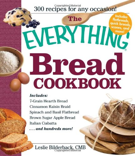 The Everything Bread Cookbook front-57989