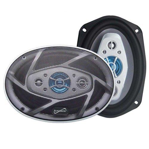 "1200 Watt 6X9"" Car Audio Stereo Coaxial Speakers 1200W Pair 8-Way 6 X 9"""