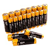 Silicon Power AA 10PK + AAA 10PK Alkaline Batteries Performance, Combo Pack, SPAL23ABAT20SV1K