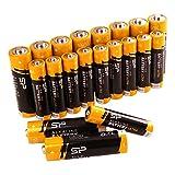 Silicon Power AA 10PK + AAA 10PK Alkaline Batteries Performance, Combo Pack, SPAL23ABAT20SV1K