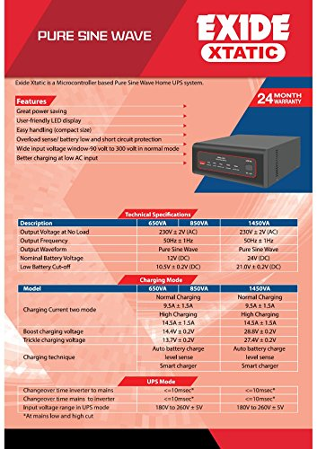 Xtatic-850-VA-Home-UPS