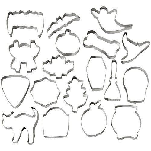 Wilton Halloween Metal Cookie Cutters