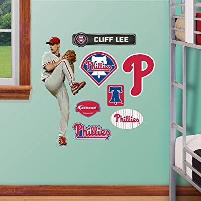 MLB Philadelphia Phillies Cliff Lee Junior Wall Graphics