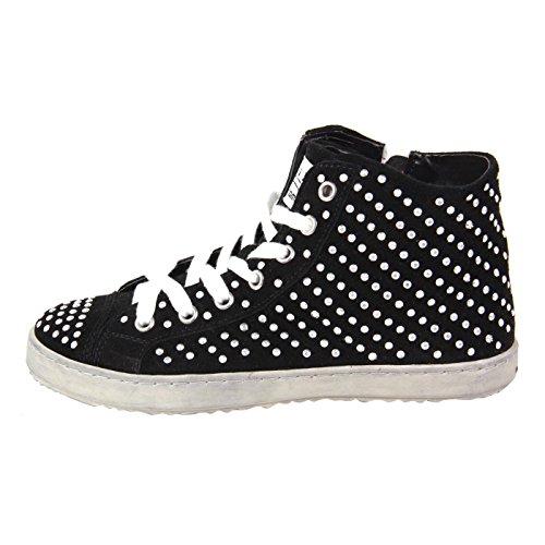 Pelle FRANCESCOMILANO Sneaker High Top Nero F453T nero 37