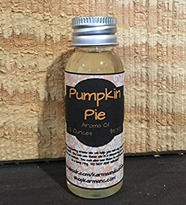 Perfect Pumpkin Pie 1.2 Ounce Aroma Oil for Home Fragrance or Aromatherapy