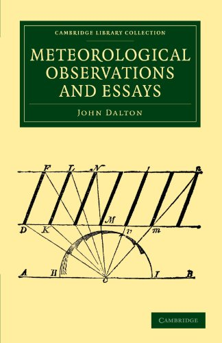 Meteorological Observations and Essays Paperback (Cambridge Library Collection - Physical  Sciences)