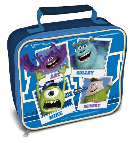 Monsters University Inc Rectangle Lunch Bag (Monsters Inc Toddler Blanket compare prices)