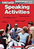 img - for Speaking Activities: Pre-intermediate - Advanced (Timesaver) by Maggs Pete Hird John (2002-03-15) Spiral-bound book / textbook / text book