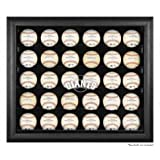 San Francisco Giants Framed 30-Ball Logo Display Case by Mounted Memories