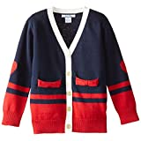 Hartstrings Little Girls' Cotton V-Neck Cardigan Sweater