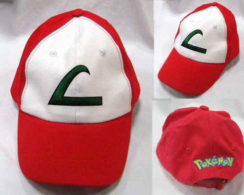 Ash Ketchum's signature hat replica