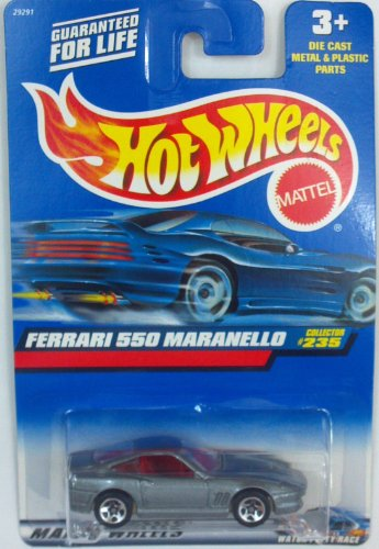 Hot Wheels Ferrari 550 Maranello #235 Year: 2000