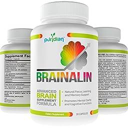 Vitaminas Para El Cerebro. Mejoran La Memoria. Pastillas De Concentración ★ Garantizado Por 365 Dias ★ Mejoran La Memoria Y Atención.