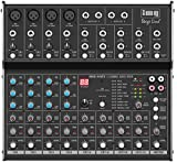 IMG Stage Line 202810 8 Channel Audio Mixer with DSP Effect Unit