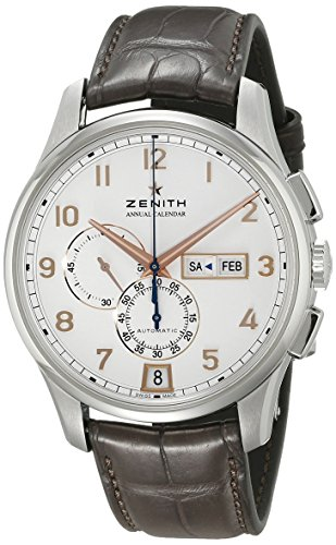 Zenith-Mens-ZE032072405401C711-Captain-Winsor-Analog-Display-Swiss-Automatic-Brown-Watch