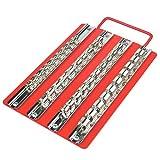 持ち運びに便利 ソケットホルダー 1/4、3/8、1/2合計40コ WHSDH0141 [並行輸入品]