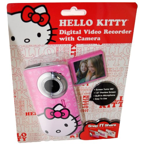 Hello Kitty Digital Video Recorder & Camera with 1.8