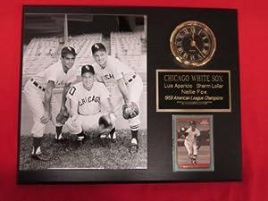 J&C Baseball Clubhouse JC000892 1959 Chicago White Sox Collectors Clock Plaque... by J & C Baseball Clubhouse