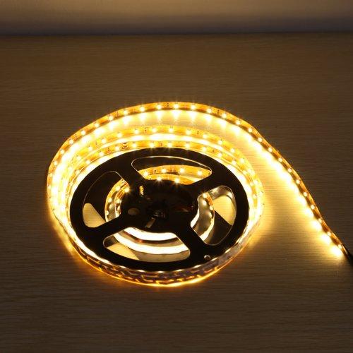 Lighting Ever® Flexible 3528 Led Strip Light,Warm White,8.2Ft/2.5M,150 Leds, Non Waterproof,Ultimate Diy Lighting,Under Cabinet Lighting,Backlight