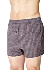 3 Pack Pure Cotton Assorted Boxers [T14-3791-S]