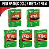 FujiFilm Fuji FP-100C Instant Color 10 Exposure - 5 Pack