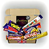 Cadbury Bar Lover's Mega Chocolate Box - Curly Wurly, Wispa Gold, Picnic, Fudge, Dairy Milk, Caramel, Wispa, Double Decker, Twirl And Crunchie - By Moreton Gifts
