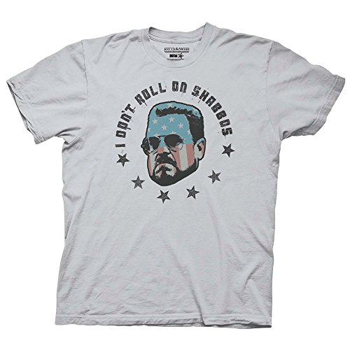 Ripple Junction Big Lebowski Roll On Shabbas Adult T-Shirt-Ice Grey (Large)