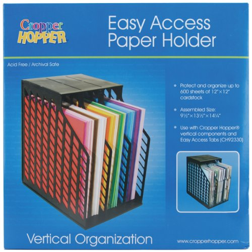 1eefd93c8d Advantus Cropper Hopper Easy Access Paper Holder